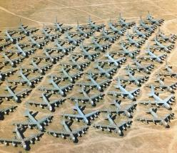 """Over 4000 US Air Force planes are laid to rest at """"The Boneyard"""" at Davis-Monthan Air Force Base in AZ.  And yes, tours are available...: Military Aircraft, Airplane Graveyard, Air Force, Bones, Arizona, Yards"""
