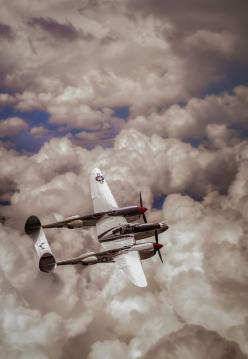 P-38 Lightning. I think these planes are beautiful.: Wwii, Airplane, Aircraft, Planes, P 38 Lightning