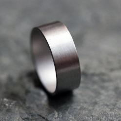 Palladium wedding ring - wide wedding band - unisex - mens wedding band - custom size - made to order: Mens Wedding Rings, Mens Wedding Band, Men Wedding Bands, Iridium Ring, Men Wedding Rings, Engagement Rings
