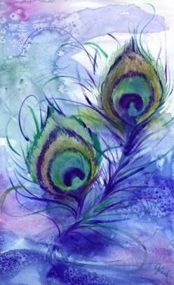 Peacock, A4 Fine Art Print. $12.00, via Etsy.: Peacock Art, Peacock Feathers, Peacocks, Watercolor Peacock, Water Color, Oil Painting, Art Painting, Peacock Eye Feather