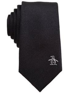 Penguin Baron Solid Logo Skinny Tie: Logo Skinny, Skinny Ties, Baron Solid, Pocket Squares, Things Penguin, Logo Tie, Penguin Baron, Lychelles Penguins, Solid Logo