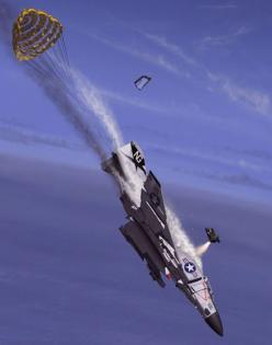 Pilot ejection - http://www.avionslegendaires.net/dossier/le-siege-ejectable/le-siege-ejectable-photos/: Fighterjet, F 4 Phantom, Air Force, Fly, Aircraft Stuff, Planes Aircraft, F4 Phantom, Military