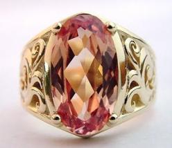 pink Imperial Topaz . this would be equally beautiful in platinum or white 14K.: Bling, Imperial Topaz, Topaz Engagementrings, Gold Rings, Topaz Ring, Alternative Jewelry, Jewelry Rings