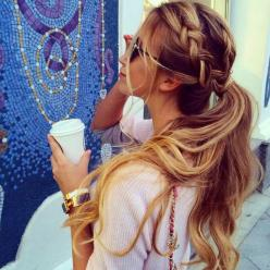 : Pony Tail, Hairstyles, Ponytail, Hair Styles, Hairdos, Long Hair, Braids