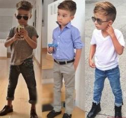 Pretty Boy Names #fashion #style - middle one will be my first. He looks like he's an architect.: Boy Name, Pretty Boy, Boy Haircuts, Kids Fashion, Hair Cut, Baby Boy