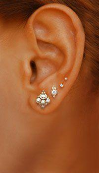 pretty: Style, Tattoo Piercing, Piercing Ideas, Ear Piercings, Tattoos Piercings, Jewelry, Earrings