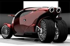 Proxima, Bike/Car Hybrid.  Damn nice, but I can't see being able to have sex in it without the paramedics being involved.: Motorcycles, Bikes, Auto, Vehicles, Concept Cars