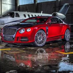 Pure Opulence! Mansory Bentley Continental GT and private jet: Mansory Sanguis, Bentley Continental Gt, Dream Cars, Sanguis Bentley, Auto, Bentleycontinental