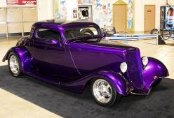 Purple Custom Sports Car Pink Car Pink Convertible Things I L ...: Purple Cars, 1933 Ford, Hotrod, Purple Passion, Color Purple, Things Purple, Hot Rods