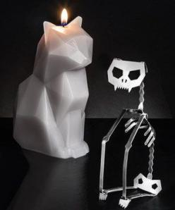 PyroPet Candle: | Community Post: 20 Cat-Themed Items You Need For Your House Right Meow: Decor, Cats, Stuff, House Ideas, Cat Things, Gift Ideas, Skeletons, List