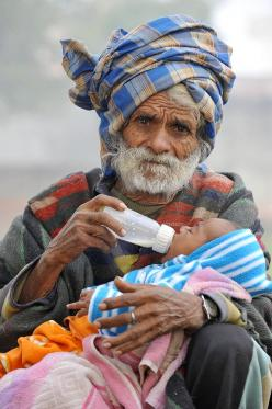 Ramjeet Raghav Becomes World's Oldest Dad At 96: People Faces, Life, Beautiful, Beauty, Portraits, Dads, Generation, Photo, Culture