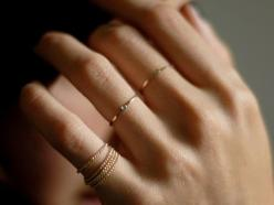 Rings: Delicate Rings, Fashion, Style, Tiny Rings, Gold Rings, Jewelry, Dainty Ring, Accessories