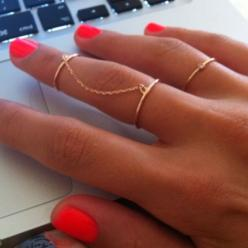 RINGS: Fashion, Style, Chains, Rings, Jewelry, Nails, Accessories