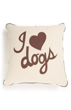 Romy + Jacob 'I Love Dogs' Pillow | Nordstrom: Dogs Pillow, Nordstrom, Cute Pillows, Heart Dogs, Dog Things, Awesome Pillows