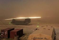 Sand hitting the rotors creating luminous halos above a Boeing CH-47 Chinook: Static Electricity, Helicopter S Rotor, Helicopter Halo, Kopp Etchells, Helicopters Hubschraubers, Helicopters Military Civilian, Chinook Helicopters, Luminous Halo