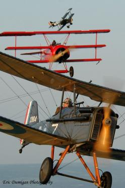 Se5a pursuit by a Fokker Dr. 1: Airplanes Airplanes, Flight, Bi Plans, Aircraft, Antique Airplanes, Photo, War