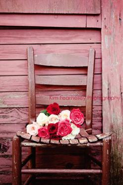 Shabby Chic Flower Photo - Fine Art Photography, rose, vintage, romantic, rose photo, home deco, pink, red, cranberry, shabby chic: Shabby Chic Flowers, Fearheiley Photography, Fine Art Photography, Flower Photos, Pink, Vintage Roses, Cranberry By Kimfear