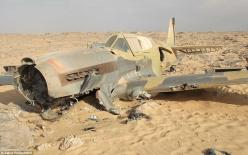 Shifting sands: The final resting place of the Kittyhawk P-40 has been discovered in the Sahara 70 years after it crashed there: History, World War Ii, Fighter Planes, Wwii, Sahara Desert, 70 Years, Deserts