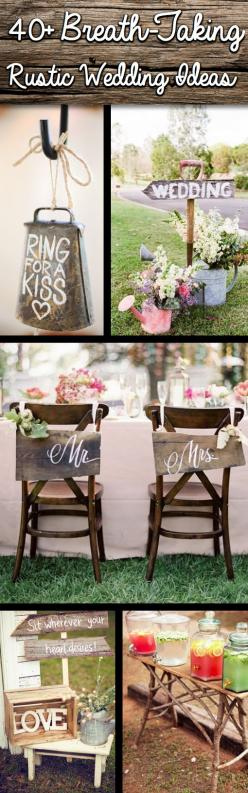 Shine On Your Wedding Day With These Breath-Taking Rustic Wedding Ideas! - Click on the picture to see all the pictures! :): Rustic Country Wedding Idea, Wedding Decor Idea, Rustic Wedding Theme, Rustic Wedding Idea, Country Wedding Decoration, Rustic Wed