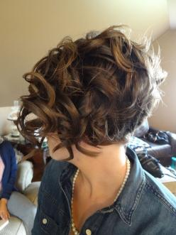 Short Curly Bob Hairstyle: Hair Styles, Hair Cut, Short Hairstyles, Short Curly Bob Hairstyle, Haircut, Curly Bob Hairstyles, Curly Hair, Hairstyles For Short Hair