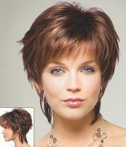 short hair styles for women: Short Cut, Short Shag Hair Cut, Layered Cut, Cute Short Haircuts, Hair Styles, Hair Cuts, Short Hairstyles, For Women, Cute Shorts