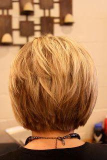 Short Hair Styles would be cute for mom: Short Hair, Haircuts, Bobs, Hair Styles, Layered Bob, Hair Cuts, Bob Hairstyles, Stacked Bob