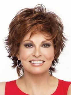 short shag hairstyle with highlights: Raquelwelch, Haircuts, Hair Styles, Hair Cuts, Short Hairstyles, Wigs, Shag Hairstyle, Raquel Welch