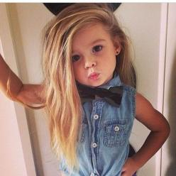 Shut up, this little girl has better hair than I do.: Little Girls, Babies, Style, Kids Fashion, Baby Girl, Children, Future Kids, Box