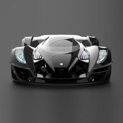 Sigma is a supercar built with extra emphasis on radical styling. The glass canopy allows great track visibility, and can also be removed to enjoy open-cockpit motoring.: Supercar, Dream Cars, Auto, Design