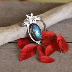 Silver bird pendant labradorite necklace silver by Naryajewelry: Gifts 2015 2016, Etsy Gifts, Awesome Necklaces, Jewelry, Handmade Gifts, Awesome Etsy, Beautiful Etsy, 2014 Etsy