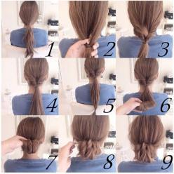 Simple updo for when you're dressed up: Hairstyle, Hair Style