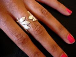 so different and pretty: Silverleaf, Silver Leaf, Style, Rings, Leaf Ring, Maple Leaves, Maple Leaf