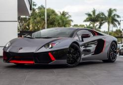 So so SEXY! This Aventador is the talk Miami. Find out why here: www.ebay.com/itm/Lamborghini-Aventador-LP700-4-Coupe-2-Door-SPORT-EXHAUST-TEST-PIPES-RADAR-/390820288868?forcerrptr=true&hash=item5afeb45964&item=390820288868&pt=US_Cars_Trucks?r