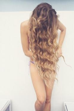 Someday my hair will be this long. love it!! this is the color ill do once my hair gets longer!: Beach Waves, Hairstyles, Hair Styles, Long Hair, Beautiful Hair, Beauty, Hair Color, Beach Hair, Curly Hair