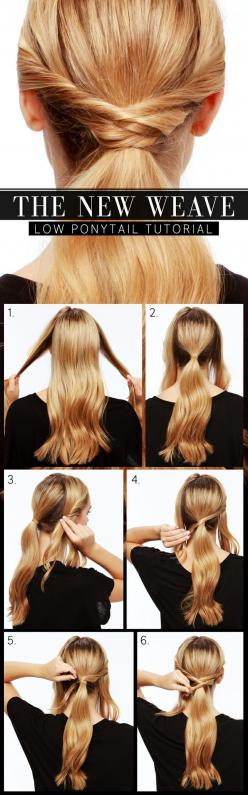 Sometimes we desire to upgrade our hairstyle and try out some new and cute hairstyle. As far as I am concerned, ponytail is perfect for summer. There are a lot of ways to style a ponytail and people consider it infinitely versatile. For example you can cr
