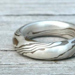 Sterling Silver & Copper Ring: Copper Ring Love, Hob Rings, Http Rings725 Blogspot Com, Sterling Silver, Copper Rings, Water Rings, Jewelry Rings, Dsn Rings