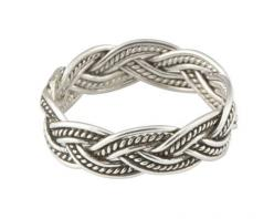 sterling silver braided thumb ring: Silver Thumb Rings, Sterling Silver, Silver Loose, Sparkle, Lotta Rings, Rings Things