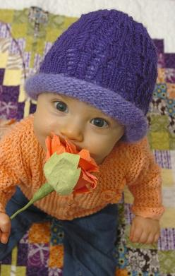 Stop and smell the roses. : Radiant Roses, Rosemarie S Roses, Baby Children, Baby Hats, Adorable, Box, Spring Baby, Photo