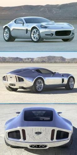 Stunning Chrome Ford Shelby GR-1 concept. Hit the pic for more #carporn like this...: Sportcar, Luxury Sports Cars, Chrome Ford, Sport Cars, Concept Cars, Ford Shelby, Gr 1 Concept