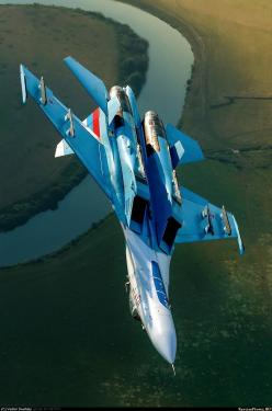 Su-27 ✈ Flanker. http://www.pinterest.com/jr88rules/war-birds/ #Warbirds: Aircraft Military, Aviones Planes, Aircraft Spacecraft, Airplanes, Jets Eastern, Fighter Jets