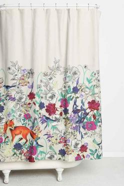 such a cute shower curtain http://rstyle.me/n/ngp39r9te: Showers, Forests, Urbanoutfitters, Urban Outfitters, Critters Shower, Bow Forest, Bows, Shower Curtains