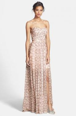 Such a pretty gown! @nordstrom #nordstrom: Foiled Chiffon, Style, Bridesmaid Dresses, Fetherston Chloe, Wedding, Gowns, Erin Fetherston, Erin Erin, Chiffon Gown
