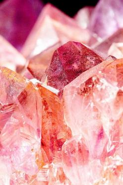 SunsetCrystal.: Crystals, Rose, Gemstones, Crystal, Colors, Beautiful, Rock, Minerals