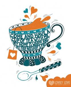 Tea lover? Try our all natural SkinnyMe 'teatox' (a detox with tea!) only available from www.skinnymetea.com.au: Tea Party, Tea Time, Kitchen Art, Quote, Teas, Tea Parties, Teacup, Teatime