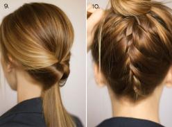 Ten Ways to Dress Up a Ponytail: Hair Ideas, Pony Tail, Hairstyles, Hair Styles, Dress Up, Fancy Ponytail, Updo, Ten Ways