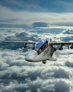 The AHRLAC is a groundbreaking multi-role light air ail platform - advanced high performance reconnaissance surveillance light attack aircraft. - Image - Army Technology: Picture, Airplane Props, Attack Aircraft, Light Aircraft 2012, Craft Airplane