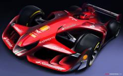 The Future of F1? Ferrari Unveils Aggressive-Looking Concept Car: Concept, F1 Concept, Formula 1, Concept Cars, Design, Ferrari F1, Formula One