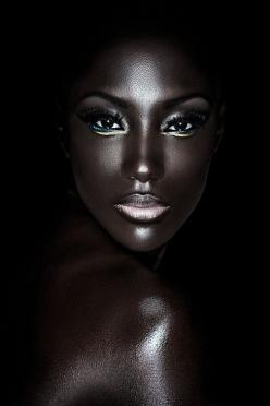 The Infinite Shades and Complexities of Black Skin By Wunmi Pedro (what an absolutely Gorgeous woman! ...Sherri): Faces, Black Beauty, Makeup, Art, Beautiful, People, Photography, Eye