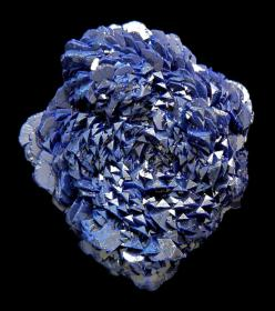 The most unique specimen of Azurite I've ever seen.: Azurite Crystal, Rock, Azurite Gemstones, Crystals Gemstones, Azurite I Ve, Minerals