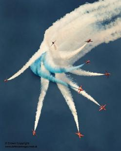 The Red Arrows Aerobatic Display Over RAF Shawbury.: Arrows Display, The Red Arrows, Aircraft Military Airborne, Aircraft Bases, Aircraft, Snowbirds Red Arrows, Airports Airplanes